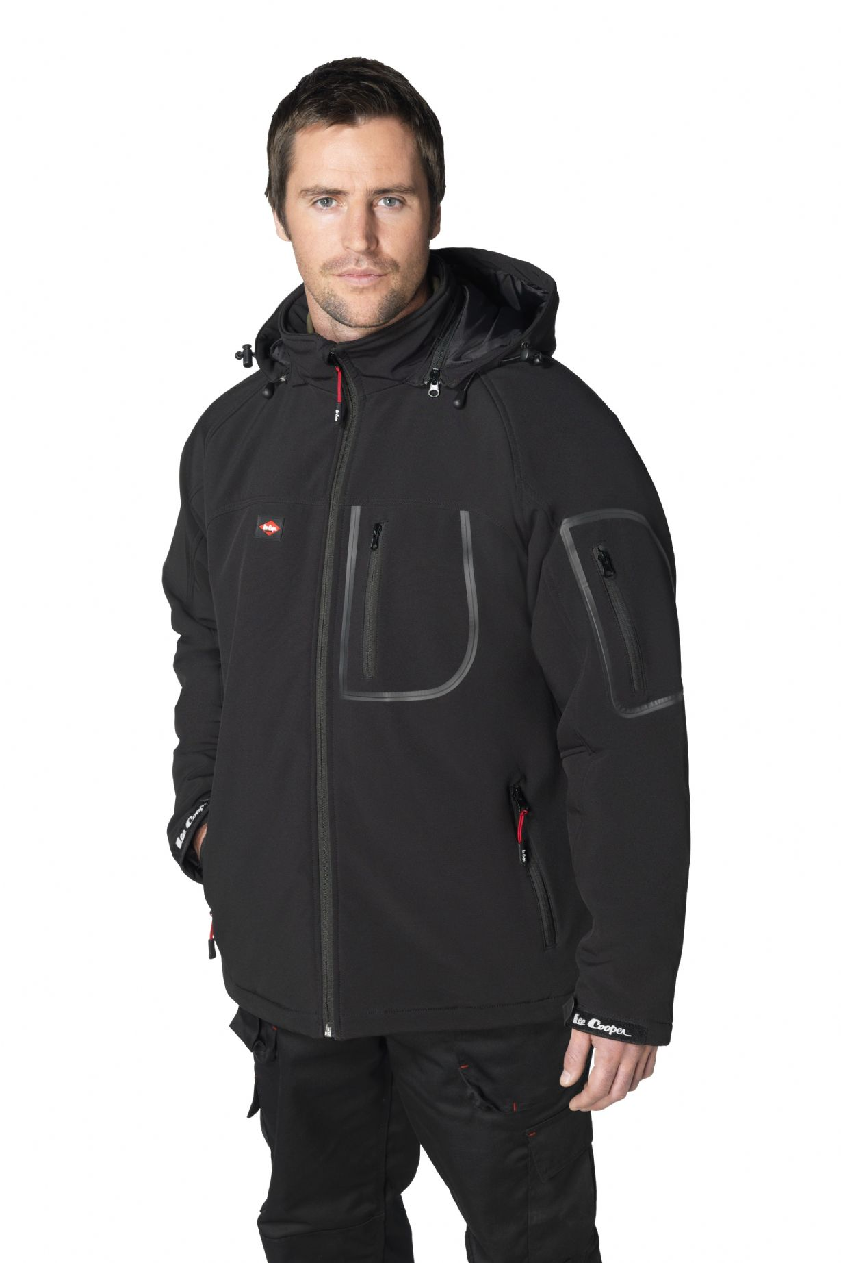 Lee Cooper Waterproof Softshell Jacket LCJKT407W