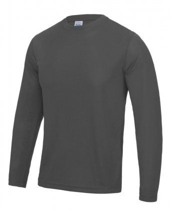 AWDis Long Sleeve Cool Wicking T-Shirt JC002