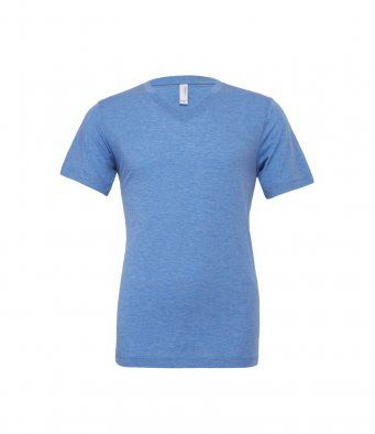 Bella & Canvas Unisex Tri-Blend v-Neck T-Shirt CV008