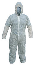 Budget Disposable Polyprop Boiler Suit PDBSH