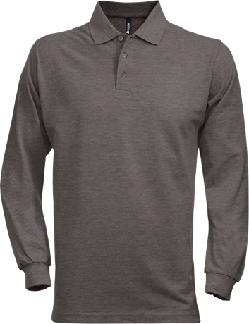 Fristads Acode Heavy Pique Long Sleeve Polo Shirt 1722 (Dark Grey)