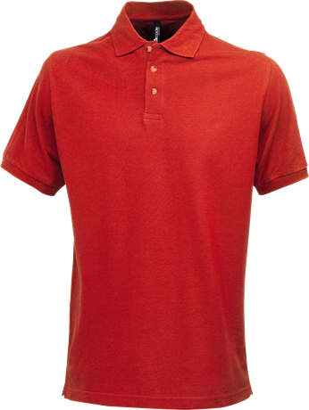 Fristads Acode Heavy Pique Polo Shirt 1724 PIQ (Red)