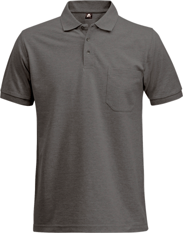 Fristads Acode Heavy Pique Polo Shirt with Pocket 1721 PIQ (Dark Grey)