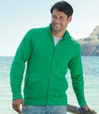 Fruit of the Loom Lightweight Sweat Jacket SS127