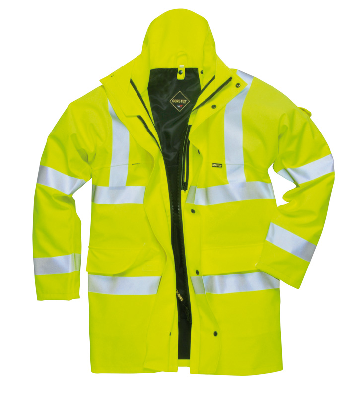 - Gore-Tex High Visibility Parka Jacket GT10