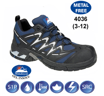 Himalayan Gravity Sport Safety Trainer with Metal Free Cap and Midsole