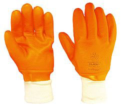 PVC Freezer Glove Lined