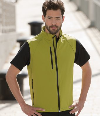 Russell Softshell Gilet J141M