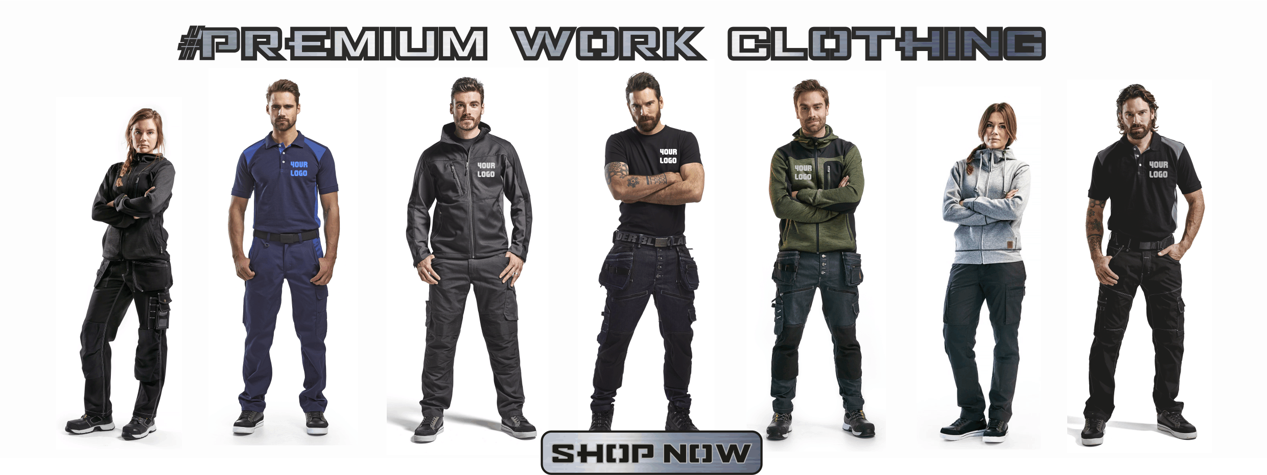 6c8e563097b Tuffshop | Embroidered or Printed Workwear. Blaklader, Snickers
