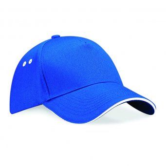 Beechfield Ultimate 5 Panel Cap with Sandwich Peak (BB15C / BC15C)
