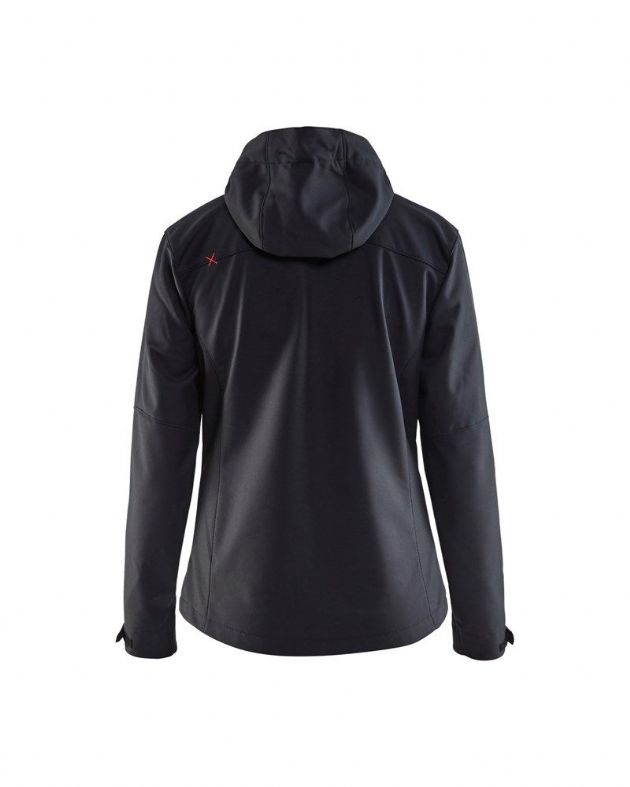 Blaklader Workwear Softshell Jacket Black//Red XS