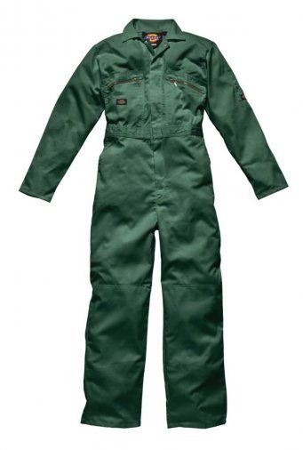 Dickies WD001 Redhawk Zip Front Coverall (Bottle)