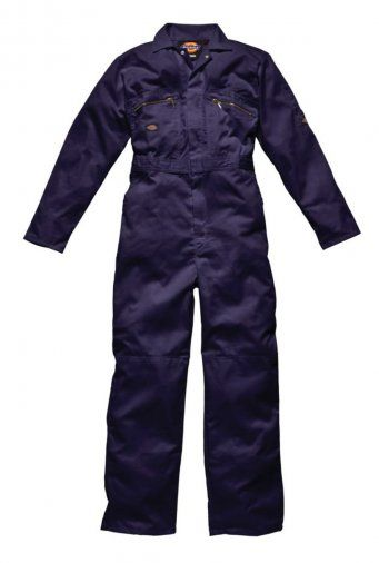 Dickies WD001 Redhawk Zip Front Coverall (Navy)