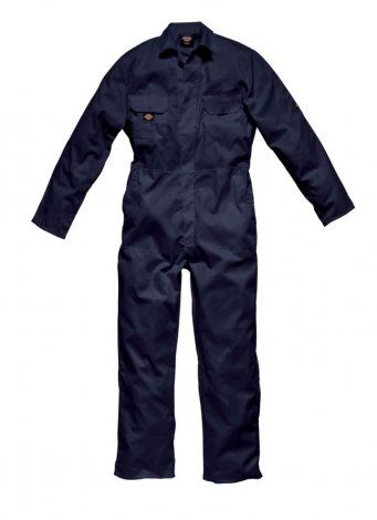 Dickies WD002 Redhawk Economy Stud Front Coverall (Navy)
