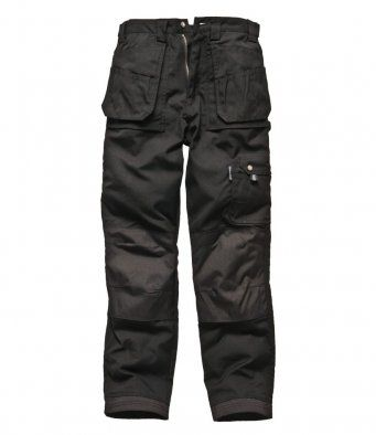 Dickies WD009 Eisenhower Multi-Pocket Trousers (Black)