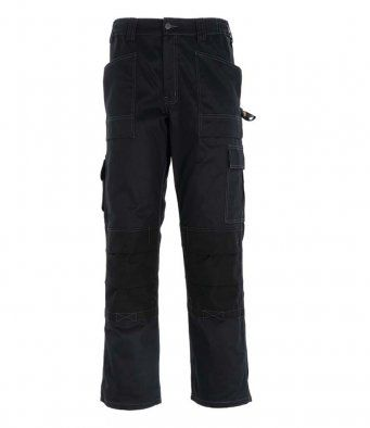 Dickies WD012 Duo Tone Grafter Trousers (Black)