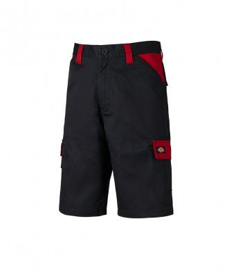 Dickies WD341 Everyday Shorts (Black/Red)