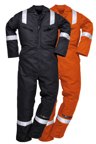 FR52 - PADDED WINTER ANTI-STATIC COVERALL 350GM