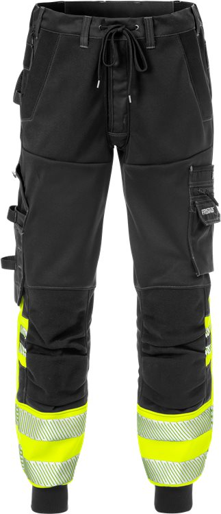 Fristads 2518 High Vis Jogger Trouser Class 1 2518 SSL (High Vis Yellow/Black)