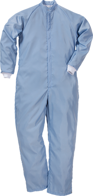 Fristads Cleanroom Coverall 8R013 XR50 (Pale Blue)