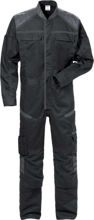 Fristads Coverall 8555 STFP (Black/Grey)