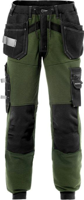 Fristads Craftsman Jogger Trousers 2086 CCK Army Green