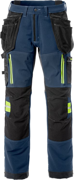 Fristads Craftsman Stretch Trousers 2566 STP (Blue)