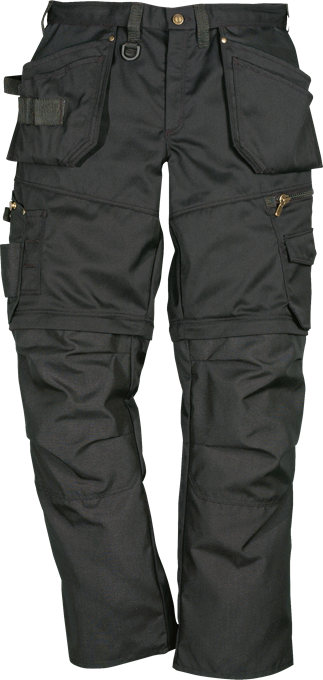 Fristads Craftsman Zip-Off Trousers 242 PS25 (Black)