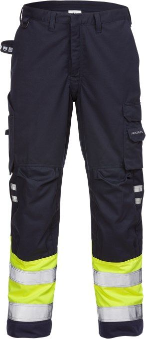 Fristads Flamestat High Vis Trousers CL 1 2176 ATHS (Hi Vis Yellow)