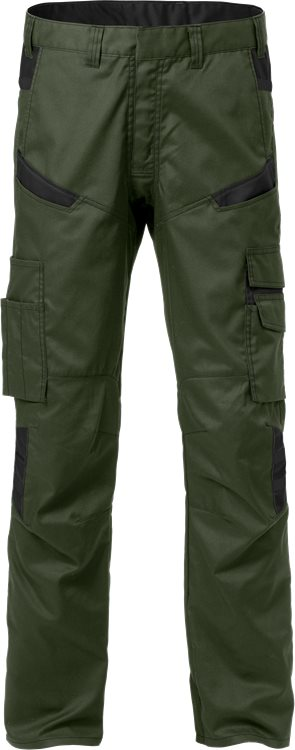 Fristads Trousers 2552 STFP (Army Green/Black)