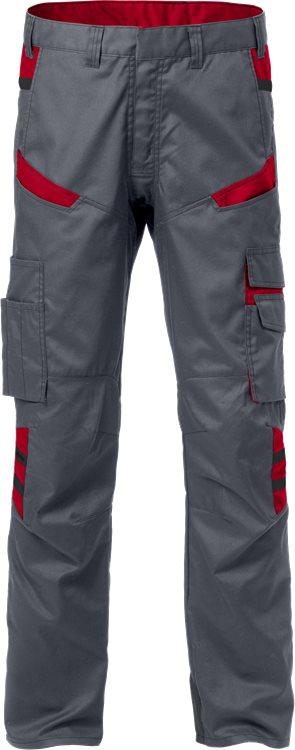 Fristads Trousers 2552 STFP (Grey/Red)