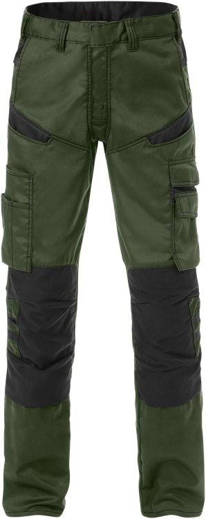 Fristads Trousers  2555 STFP  (Army Green/Black)