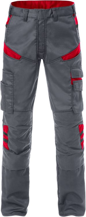 Fristads Trousers  2555 STFP  (Grey/Red)