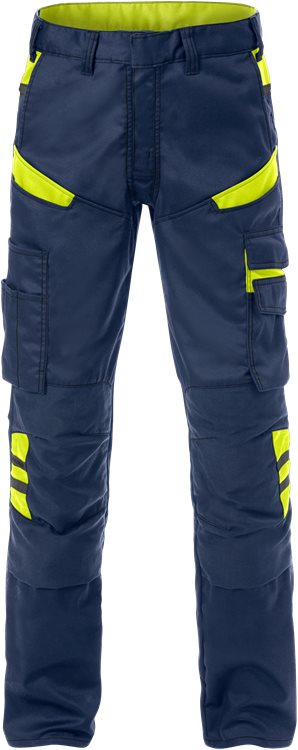 Fristads Trousers  2555 STFP  (Navy/High Vis Yellow)