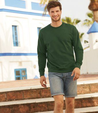 Fruit of the Loom Lightweight Drop Shoulder Sweatshirt (SS123 / SS926 /62156)