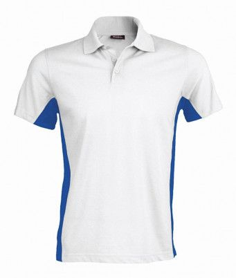 Kariban Flag Contrast Pique Polo Shirt (KB232)