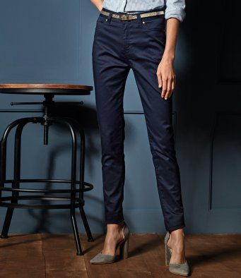 Premier PR570 Ladies Performance Chino Jean Trousers