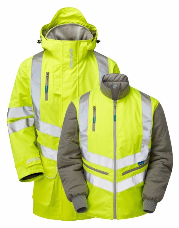 Pulsar P487 7 In 1 Storm Coat With Interactive Body Warmer