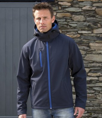 Result Core Hooded Soft Shell Jacket RS230M