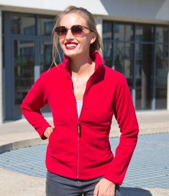 Result Ladies Horizon High Grade Micro Fleece Jacket RS115F