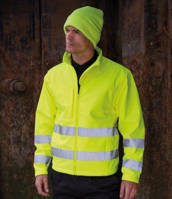 Result Safe-Guard Hi-Vis Soft Shell Jacket RS117