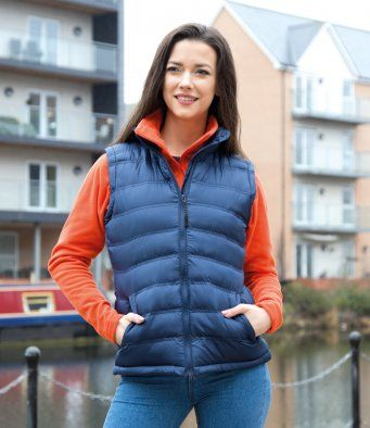 Result Urban Ladies Ice Bird Padded Gilet RS193F