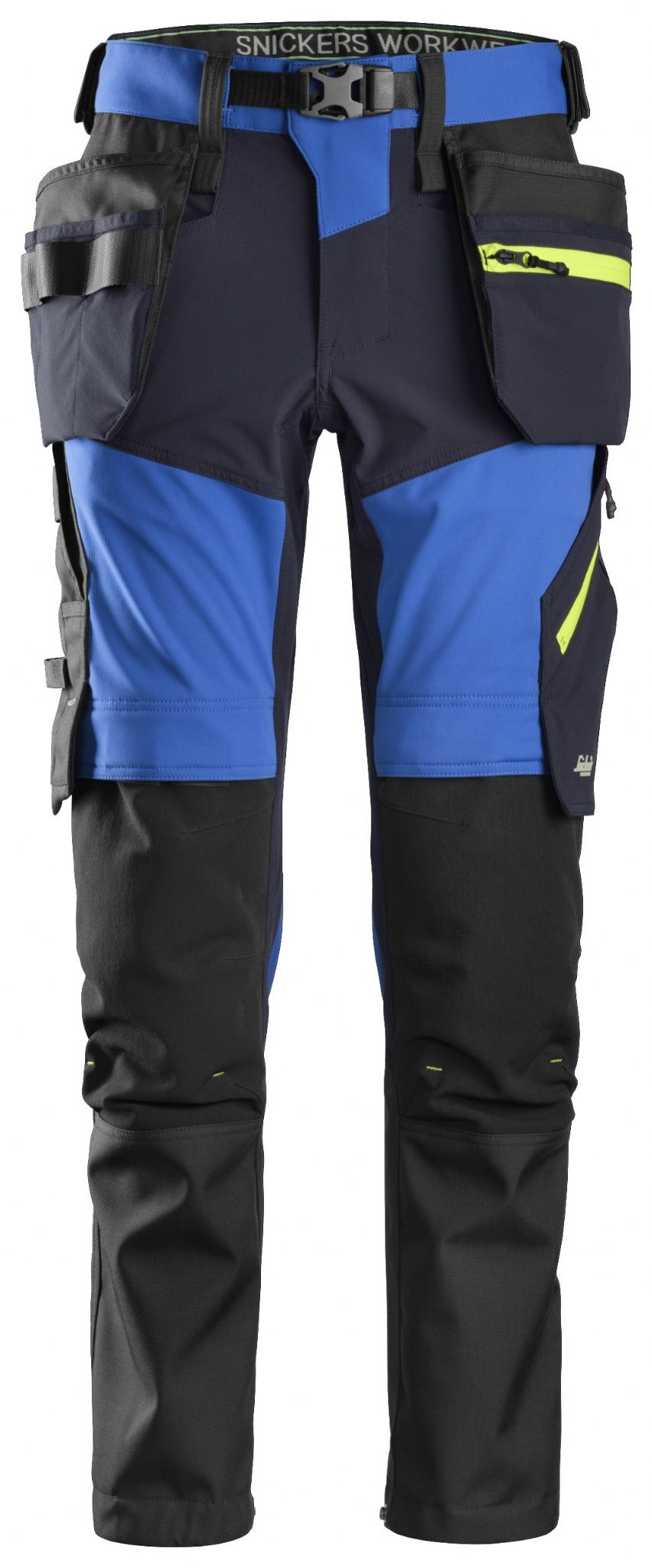 4148d8e1 Snickers 6940 FlexiWork Softshell Stretch Work Trousers Holster ...
