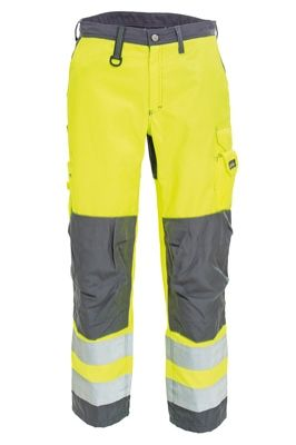 Tranemo 4829 CE-ME Ladies Trousers (High Vis Yellow/Grey)