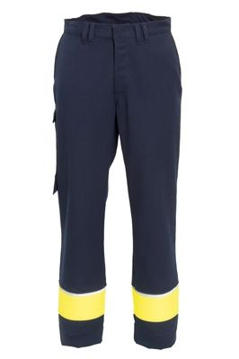 Tranemo 5628 Magma Ladies Trousers (Navy/High Vis Yellow)