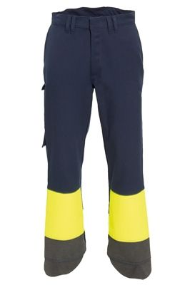 Tranemo 5629 Magma Ladies Trousers (Navy/High Vis Yellow)