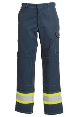Tranemo 5727 Cantex 57 Ladies Trousers (Navy/High Vis Yellow)