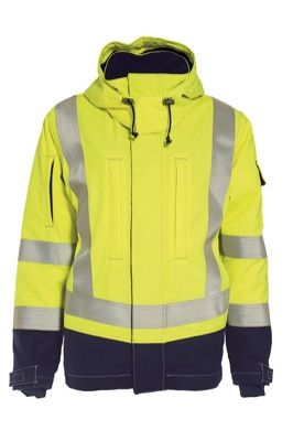 Tranemo 5807 Tera TX Ladies Winter Jacket (High Vis Yellow/Navy)