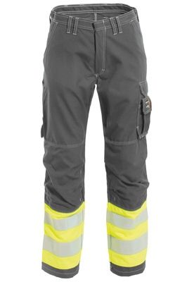 Tranemo 5828 Tera TX Ladies Trousers (Grey/High Vis Yellow)