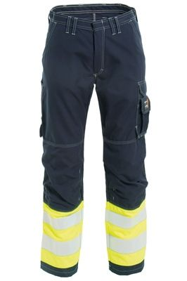 Tranemo 5828 Tera TX Ladies Trousers (Navy/High Vis Yellow)